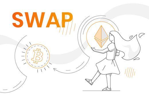Swap tokens
